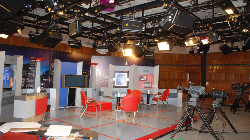 LOK SABHA TV STUDIO
