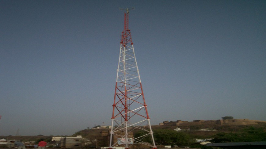 COMMUNITY RADIO STATION TOWER FOR BUNKAR VIKAS SANSTHAN, CHANDERI