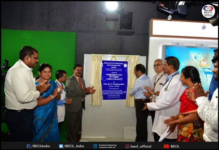 JIPMER Studio Inaugration