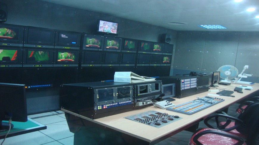 PRODUCTION CONTROL ROOM FOR BANGLADESH TV