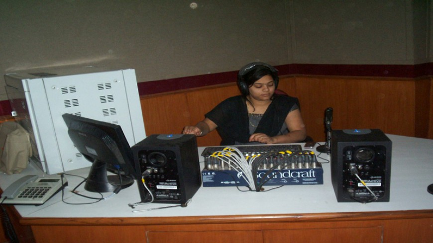 COMMUNITY RADIO STATION FOR BUNKAR VIKAS SANSTHAN, CHANDERI