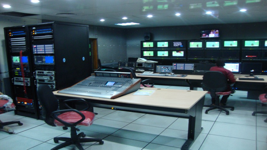 BANGLADESH TV STUDIO PRODUCTION CONTROL ROOM