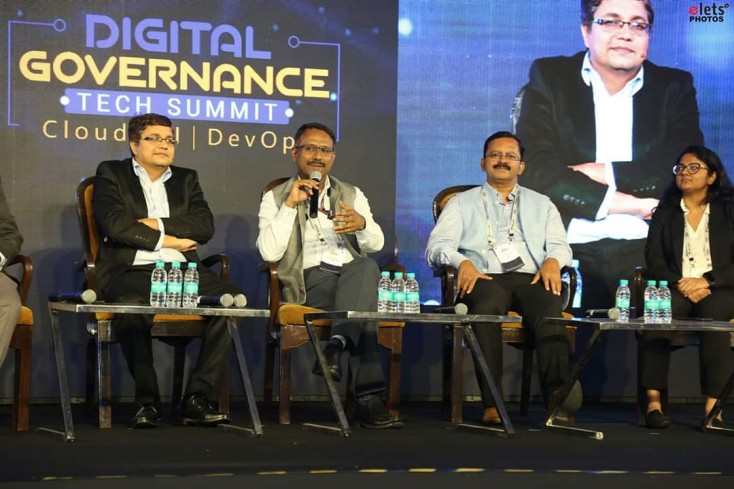 "BECIL CMD Sh. George Kuruvilla Presented his view on ""Innovation in Efficient Delivery of Government Services"" as a key speaker along with Mr. S Suresh Kumar (JS & Additional CEO of GEM.) and Mr. Saurabh  Mishra  (Director of Information and Technology)"