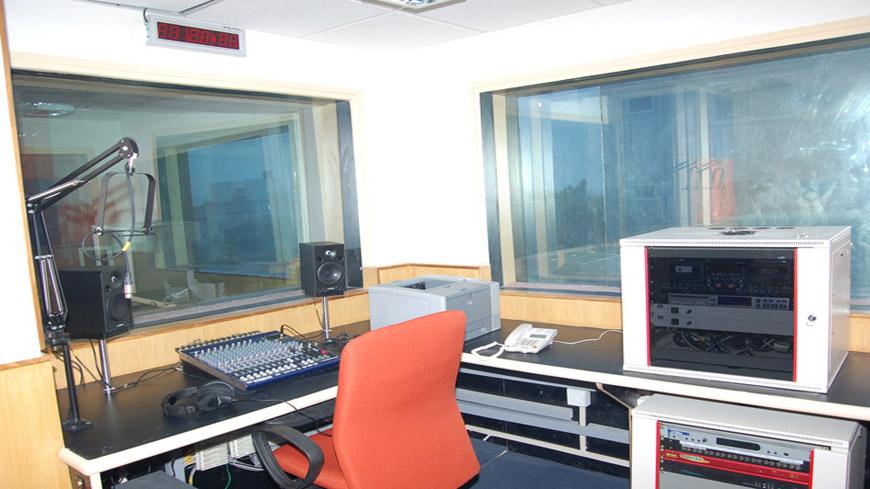 रेडियो सिटी के लिए स्टूडियो को संपादित करें