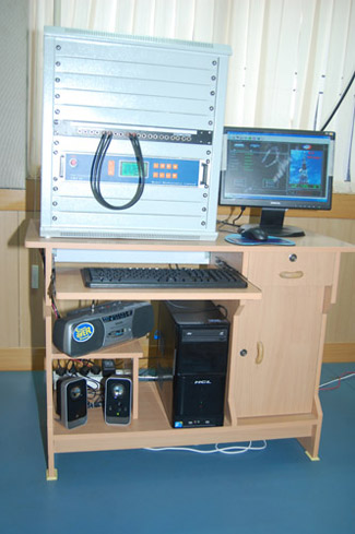 TRANSMITTER ROOM SETUP FOR CHAUDHARY DEVILAL UNIVERSITY, SIRSA